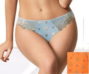 Eprise by Lise Charmel - Tendre Gothique orange - up to H cup - fancy briefs