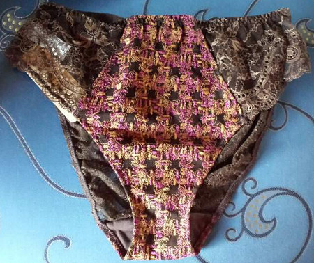 Lise Charmel - tweedy-elegance-bronze - seduction briefs