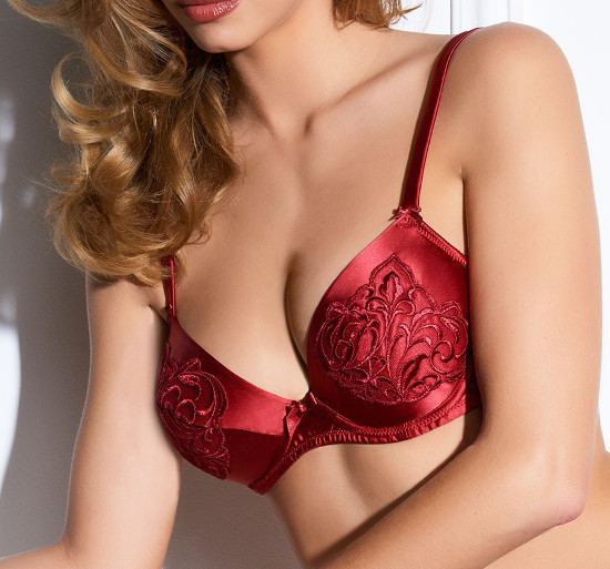 Millesia - Baroque rouge - push up
